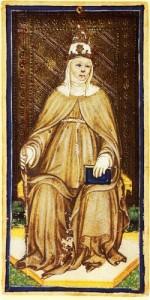 La Sacerdotisa 150x300 - Cartas del Tarot: La Sacerdotisa