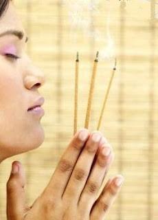 Incienso, purificador de energías negativas
