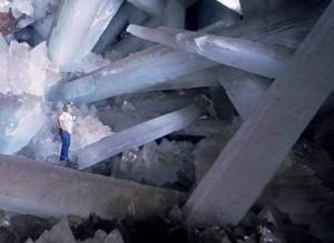 Las Grutas de Cristal de Naica en México