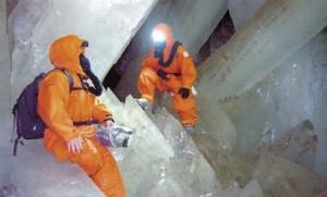Las cuevas de los cristales gigantes
