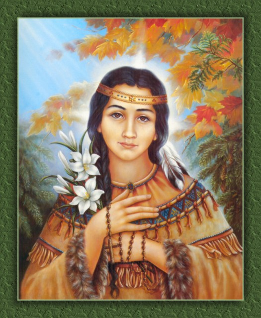 Los milagros de Santa Kateri Tekakwitha