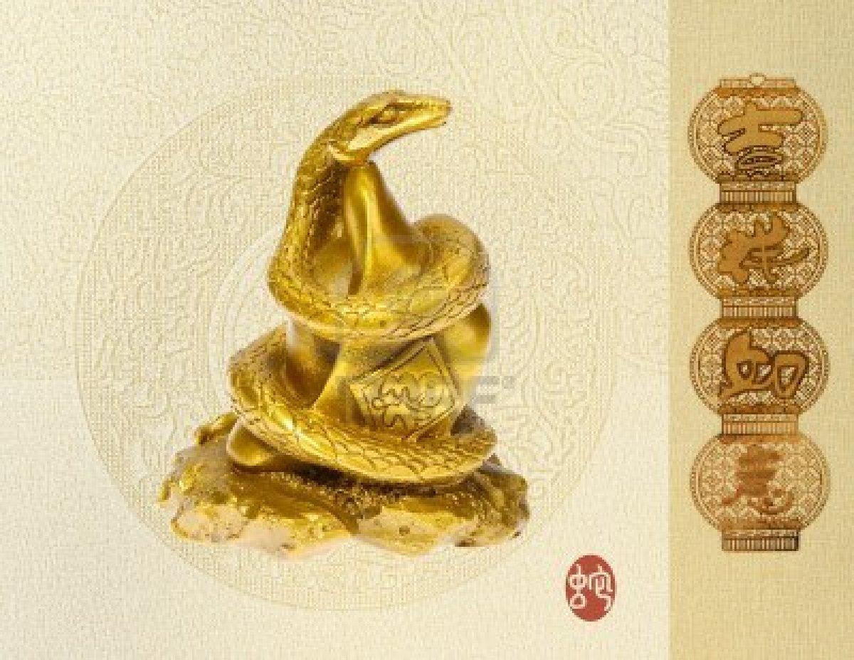 2013, año de buena suerte para los nacidos en el año de la serpiente