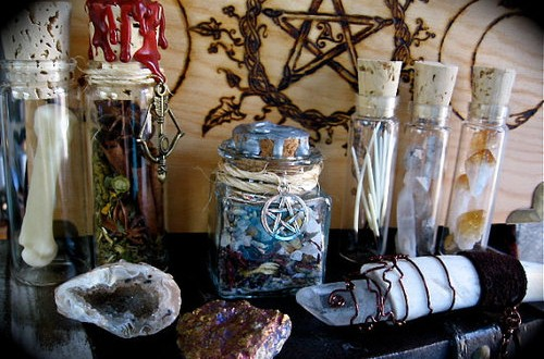 Witches Magic and Herbs