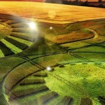 Círculos cosechas extraterrestre