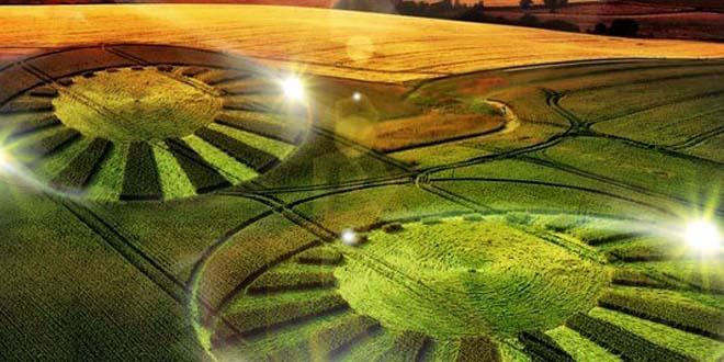 circulos cosechas extraterrestre - Círculos en las cosechas, ¿evidencia extraterrestre?