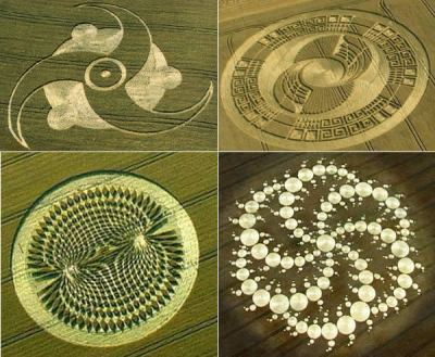 circulos cosechas - Círculos en las cosechas, ¿evidencia extraterrestre?