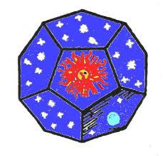 dodecaedro - La Flor de la Vida y los sólidos platónicos