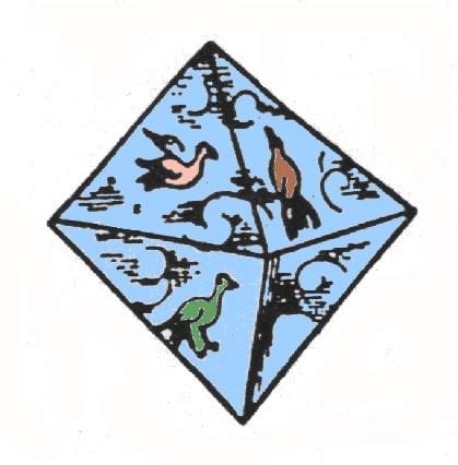 octaedro - La Flor de la Vida y los sólidos platónicos