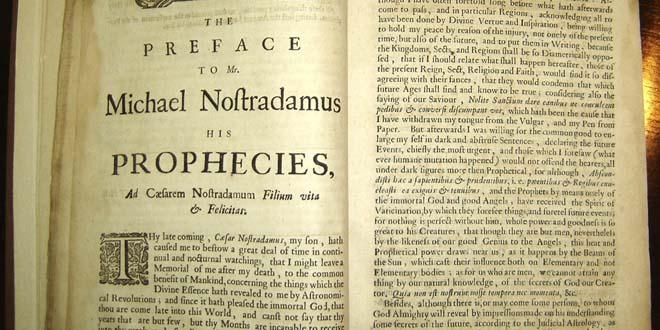 profecias nostradamus - Profecías de Nostradamus desde el 2009 hasta el 2024