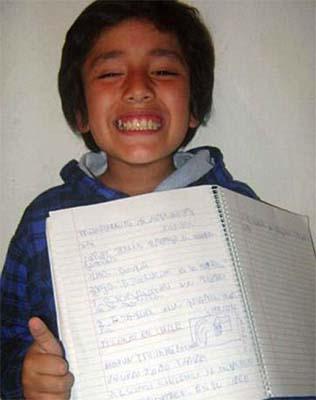 terremoto chile - Un niño de ocho años predijo el terremoto y tsunami de Chile