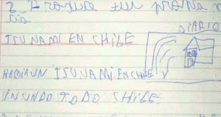 terremoto tsunami chile 310x165 - Un niño de ocho años predijo el terremoto y tsunami de Chile