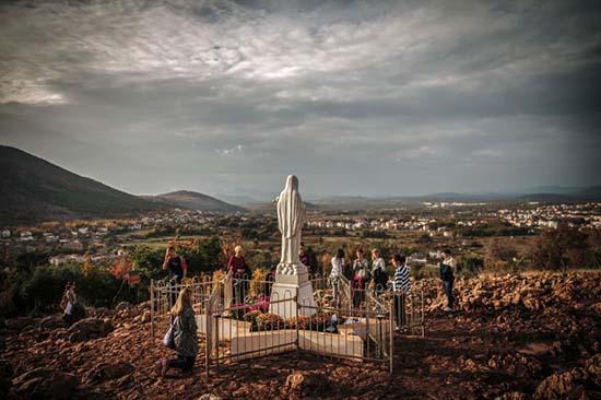 Avistamientos de la Virgen María