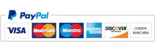 logotipo paypal tarjetas - Consulta de Tarot por WhatsApp